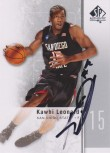 Kawhi Leonard SP Authentic Auto