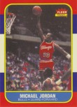 Michael Jordan Fleer Rookie Reprint