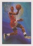 Michael Jordan Hoops Sketch Card